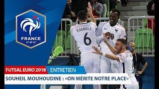 Euro Futsal 2018 : entretien avec Souheil Mouhoudine (F.C. ACCES)