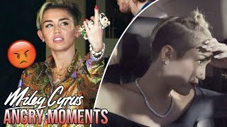 7 Times Miley Cyrus GOT ANGRY!!!