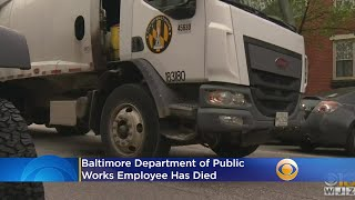 Baltimore DPW Employee Dies, City Official Says