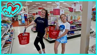 SHOPPING FOR OUR FRIENDS AT TARGET |SISTERFOREVERVLOGS #447