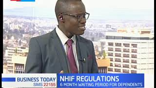 NHIF REGULATIONS: Waiting period increased to 3 months