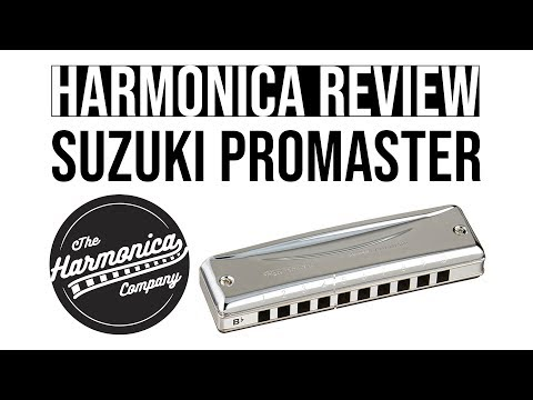 Harmonica Review & Demonstration – Suzuki Promaster