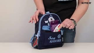 """Рюкзак детский Kite Kids K19-534XXS-1 ( 2-4 года) от компании Интернет-магазин """"Радуга"""" - школьные рюкзаки, канцтовары, творчество - видео"""