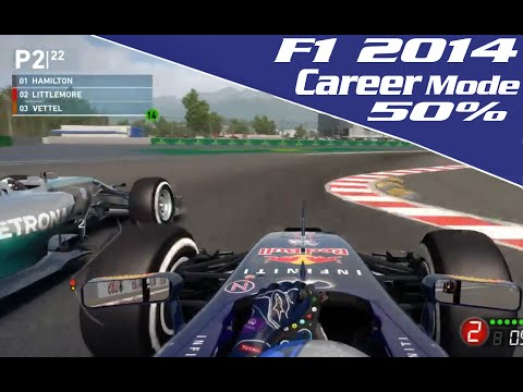 F1 2014 Career Mode Livestream On YouTube LIVE — Codemasters