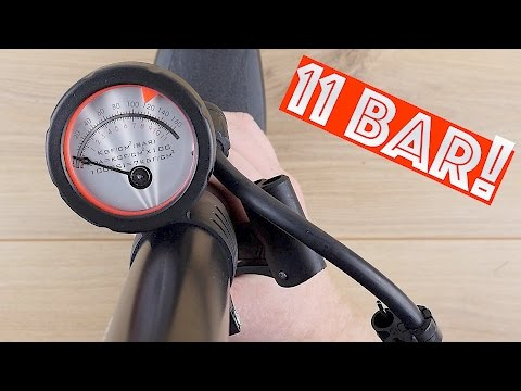 Fahrradpumpe // Luftpumpe