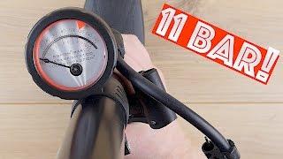 """Fahrradpumpe // Luftpumpe """"Air Pump MXV"""" von Camden Gear im TEST!"""
