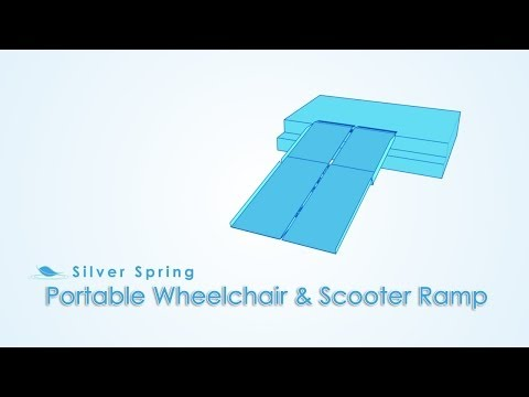 Portable Multi-Folding Scooter & Wheelchair Ramps