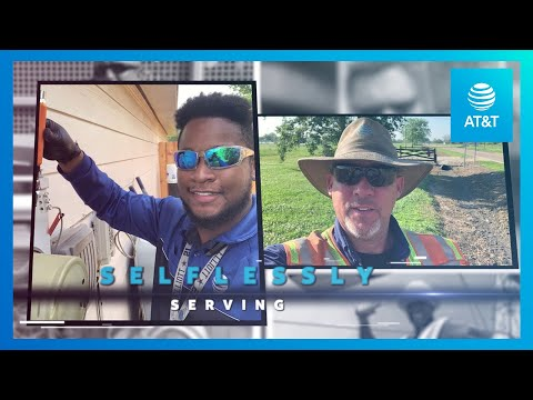 AT&T Field Technicians Among the Frontlines During COVID-19 -youtubevideotext