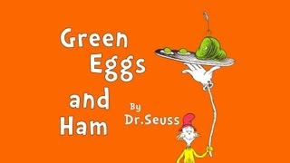 """Read-Aloud """"Green Eggs and Ham"""" by Dr Seuss - A Book for Kids"""