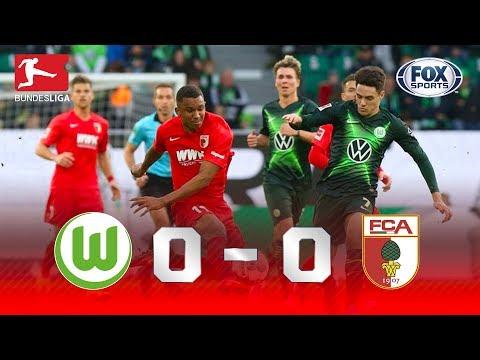 EMPATE NA BUNDESLIGA! Veja os melhores momentos de Wolfsburg 0x0 Augsburg