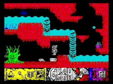 The Charm Walkthrough, ZX Spectrum