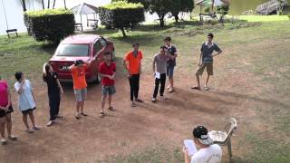 preview picture of video '031 Mardi Kluang Johor Malaysia Youth Camp Peace Fellowship Youth Singing Kluang 和平团契露营划船森林探险'