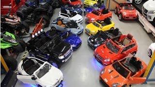 Kinderauto Kiddy Car RC Toy Kinderfahrzeuge BMW Audi S63 AMG SLS SLR  CLA 45 GL63  BMW i8 X6