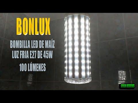 Bonlux - Bombilla Led de Maíz luz blanco frio E27 de 45W