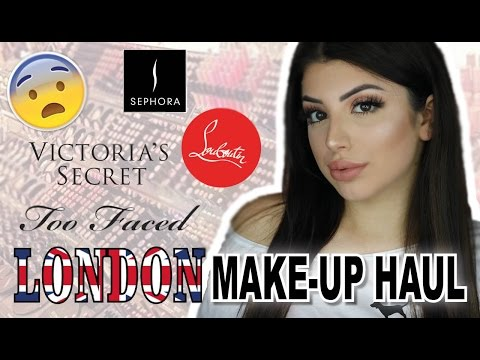 London Make-up Haul ♡ 100€ Louboutin Lippenstift? Huda Beauty, Too Faced Alegra Lopez