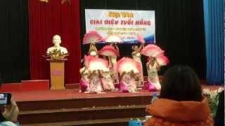 preview picture of video 'Múa Quạt: Nắng Việt - Anh k24 Chuyên Thái Nguyên'