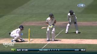 Third Test, day one highlights