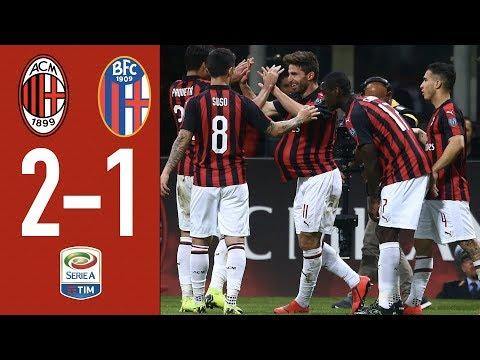 Highlights AC Milan 2-1 Bologna - Matchday 35 Serie A TIM 2018/19