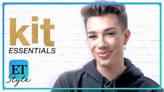 James Charles Reveals His Must-Have Beauty Products | Kit Essentials