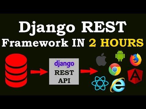 Django REST Framework Full Course For Beginners   Build REST API With Django