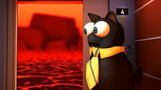 Roblox Animation - SIR MEOWS A LOT ELEVATOR!