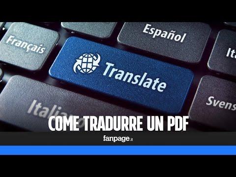 Come tradurre un PDF (o un intero libro ebook digitale)