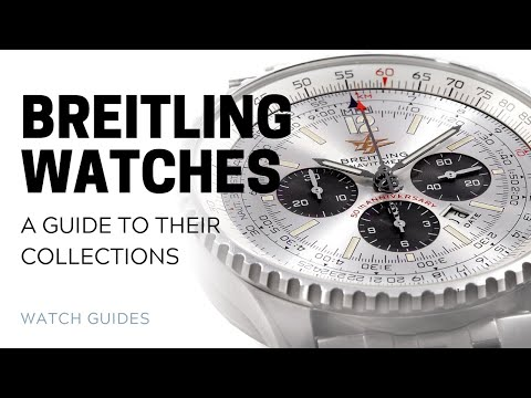 Breitling Watches: A Guide to their Collections | SwissWatchExpo
