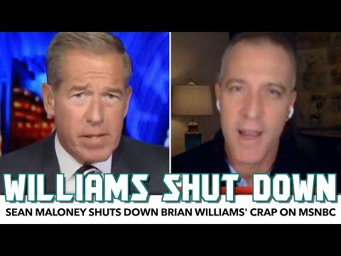 MSNBC's Brian Williams Gets Shut Down For Spewing Rightwing Propaganda