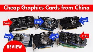 Cheap Graphics Cards from China! Asus Gigabyte Galaxy NOT A SCAM
