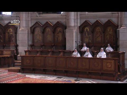 Prière du Milieu du jour du 3 avril 2021 des Bénédictines du Sacré-Coeur de Montmartre