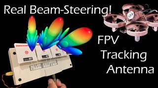 World's First Beam-Steering FPV Antenna for 5.8ghz