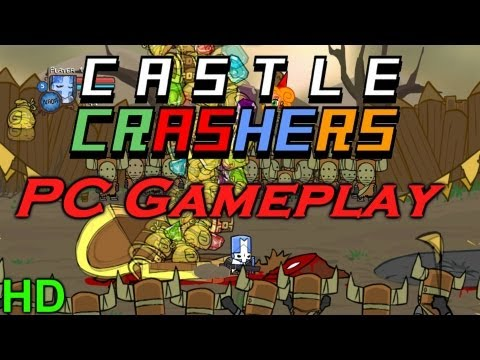 Castle Crashers PC Gameplay First Look HD Mp3