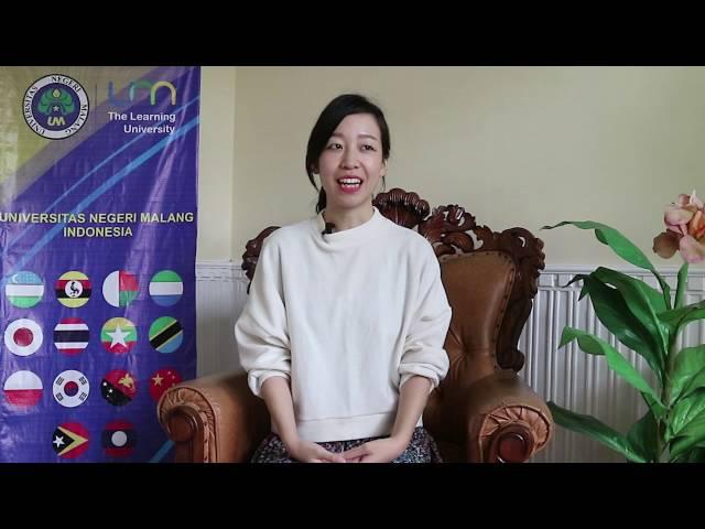 Testimoni Yume Yoneda Mahasiswa UM asal Jepang
