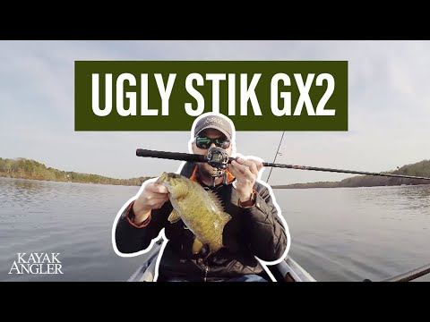 The Ugly Stik GX2 Fishing Rod | Gear Review | Kayak Angler | Rapid Media