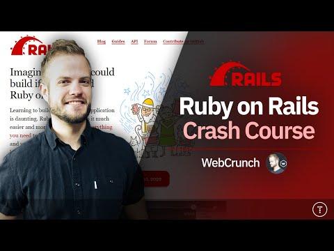 Ruby On Rails Crash Course 2020 - YouTube