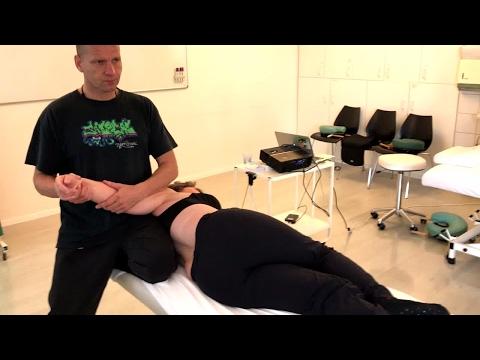 Schmerzen im Rücken unter dem Schulterblatt auf der unteren linken