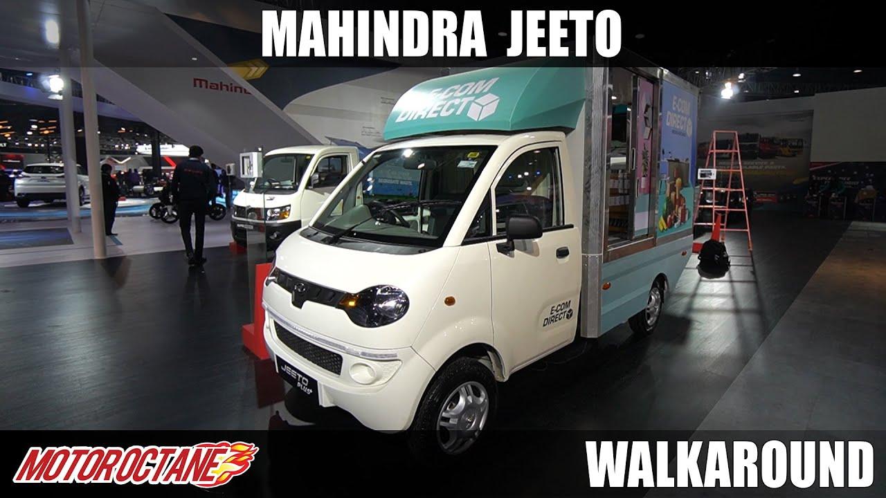 Motoroctane Youtube Video - Mahindra Jeeto Plus - Apne Chote Business ko banaiye bada! | Auto Expo 2020 | Hindi | Motoroctane