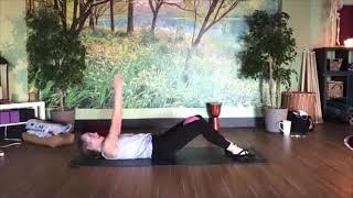 Pilates with a ball (Kimra)