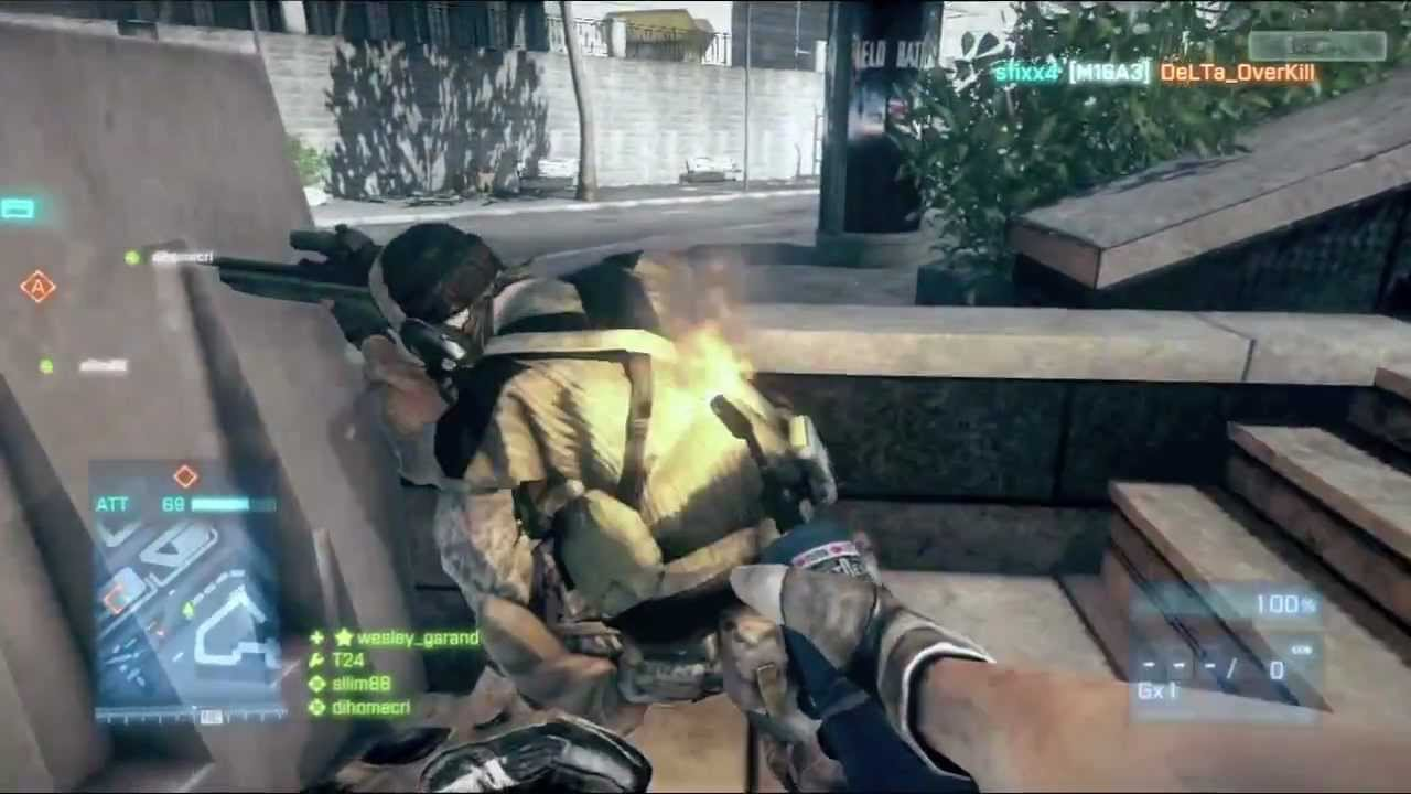 Battlefield 3's Many Deaths By Blow Torch