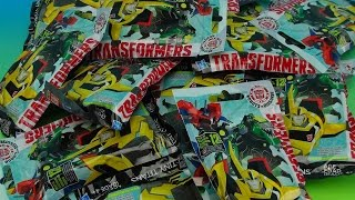 ROBOTS IN DISGUISE BLIND BAG OPENING TRANSFORMERS TOYS