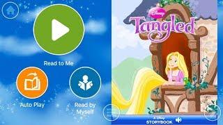 Walt Disney Pictures Presents Rapunzel Tangled - Audio Read Aloud Bedtime Storybook For Kids