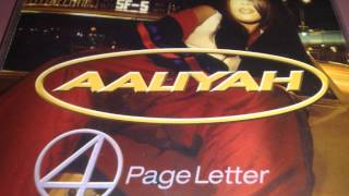 Aaliyah - 4 Page Letter (Timbaland's Main Mix)