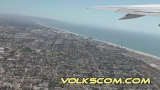 Flight from Los Angeles (LAX), California to Lihue / Kauai (LIH) in Hawaii (Full Flight to Hawaii)