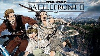 【MAD】- Star Wars Battlefront II - Anime Style 「Opening」スターウォーズ