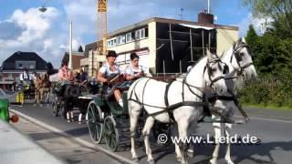 preview picture of video 'Kutschencorso Langenfeld Rheinland 2014'