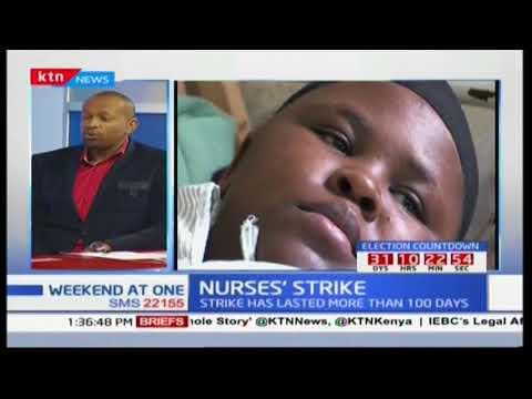 Plight of nurses dwindle as strike enters day 110: Nurse Fridah Kabiti