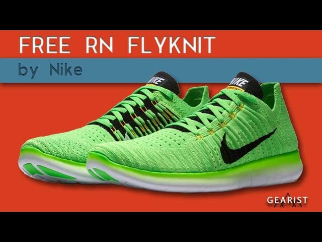 nike free rn flyknit review 2017