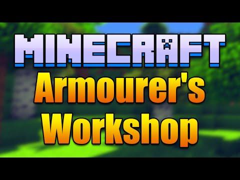 Minecraft ARMOURER'S WORKSHOP Mod - Create Custom Armor! (Minecraft v1.7.10 Mod Spotlight)