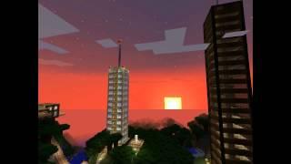 Cool Minecraft Sunsets, Screenshots, And Desktop Backgrounds.