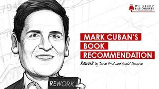 26 TIP: Mark Cuban's Book Recommendation - Rework (Entrepreneur Discussion))